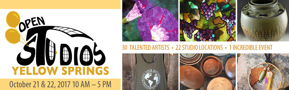 2017 Yellow Springs Open Studios Tour - Oct. 21-22