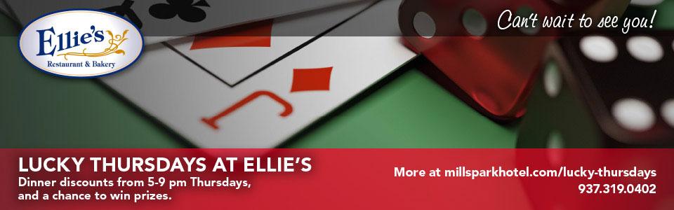 Lucky Thursdays at Ellie's