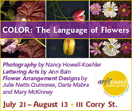 COLOR: The Language of Flowers Show